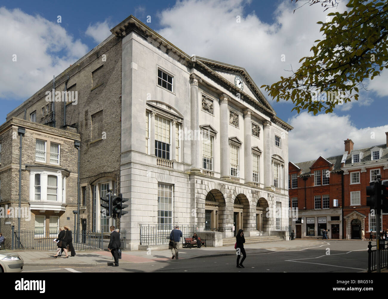 Chelmsford Old town hall now Magistrates Court - Stock Image