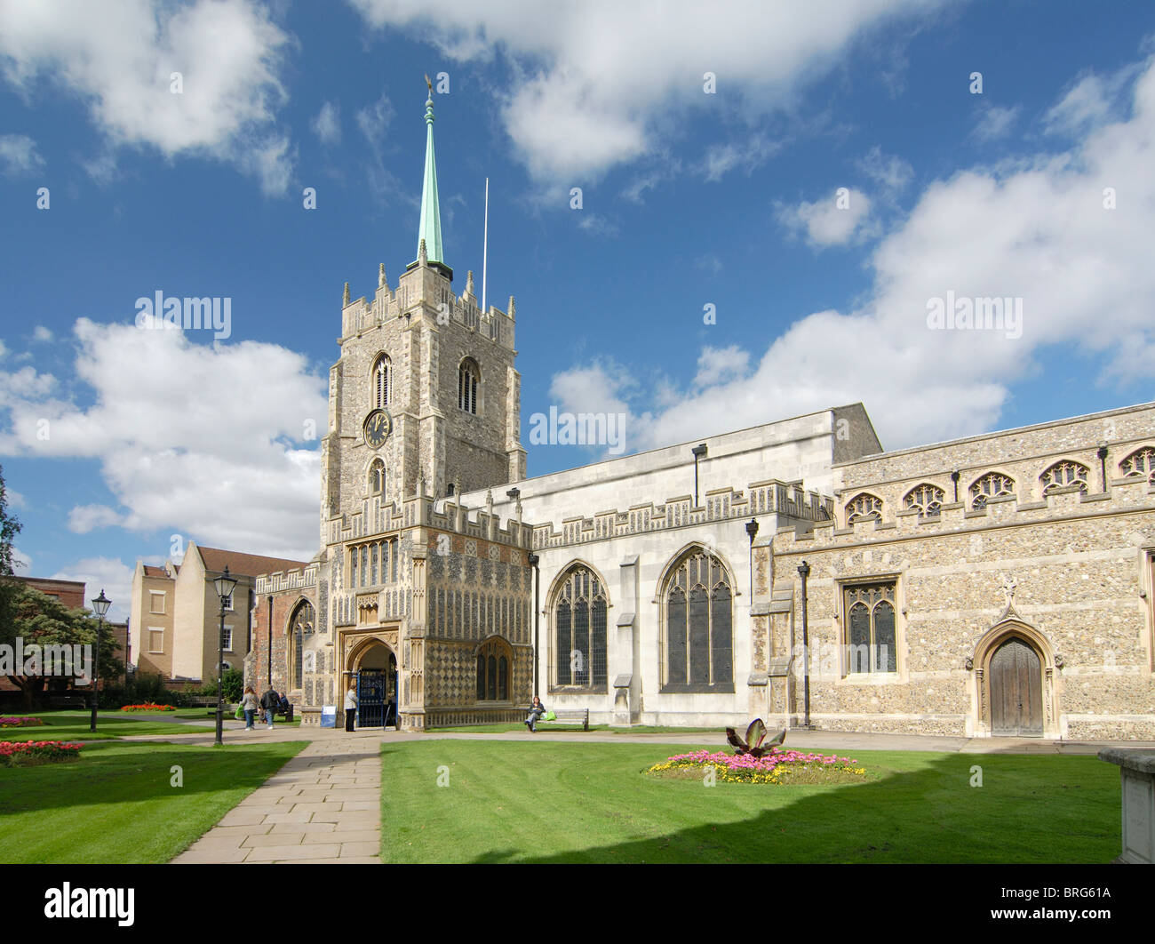 Chelmsford Cathedral - Stock Image