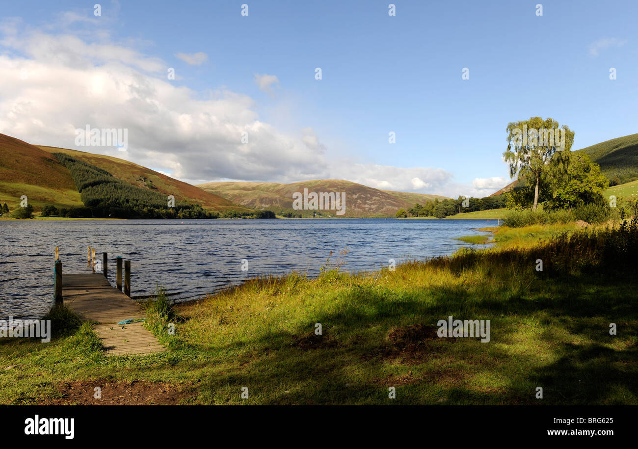 St Mary's Loch, Scottish Borders Dumfriesshire-2 - Stock Image