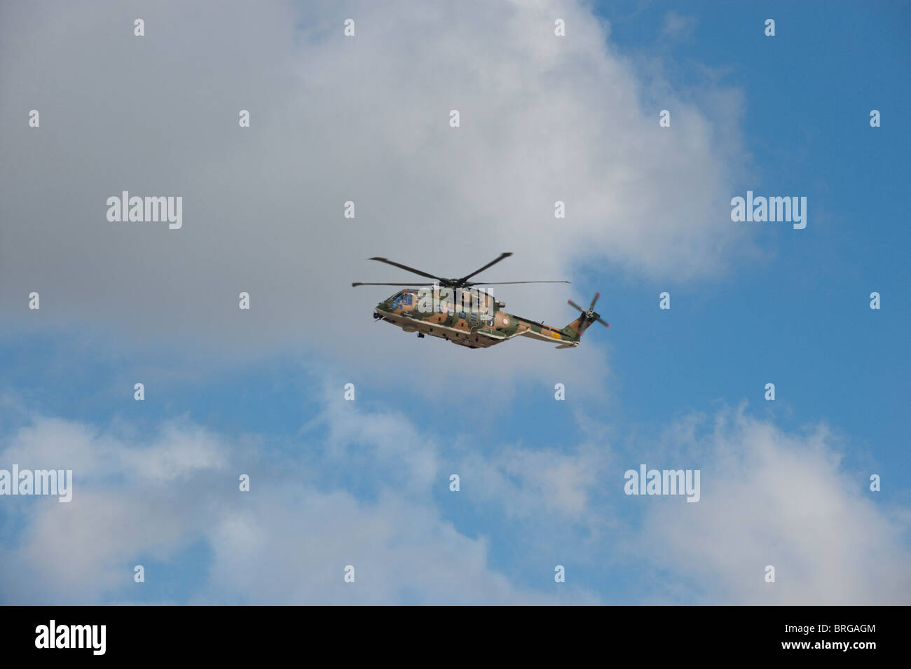 Agusta Westland EH-101 Merlin military helicopter - Stock Image