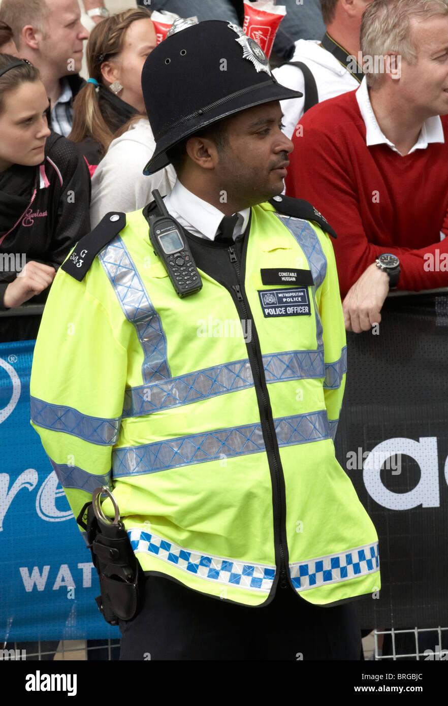Asian policewoman handcuffed