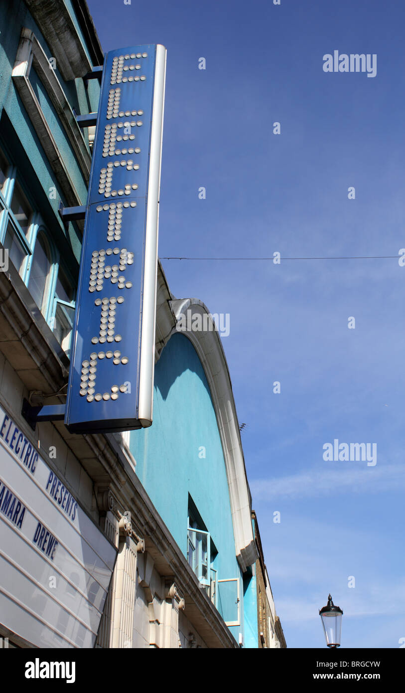 Electric Cinema, Portobello Road, Notting Hill, London, England, UK - Stock Image