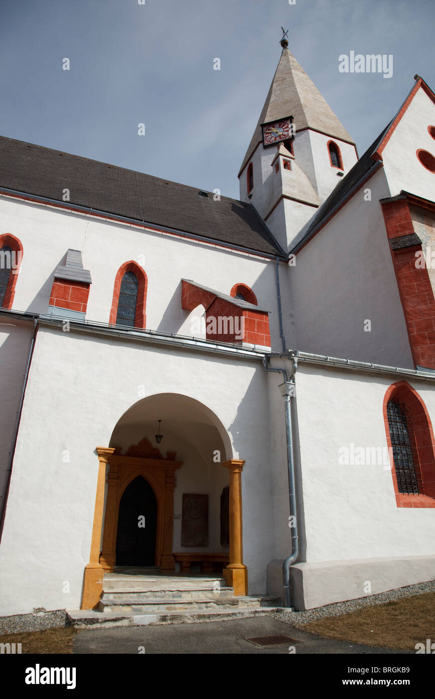 church St. Matthäus in Murau Stock Photo