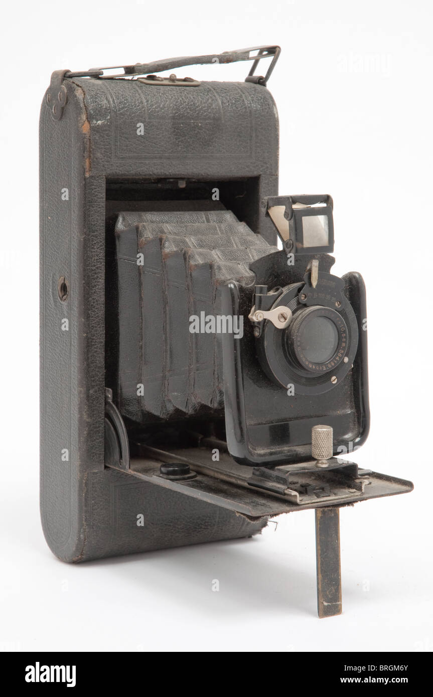 Vintage roll film camera - Stock Image