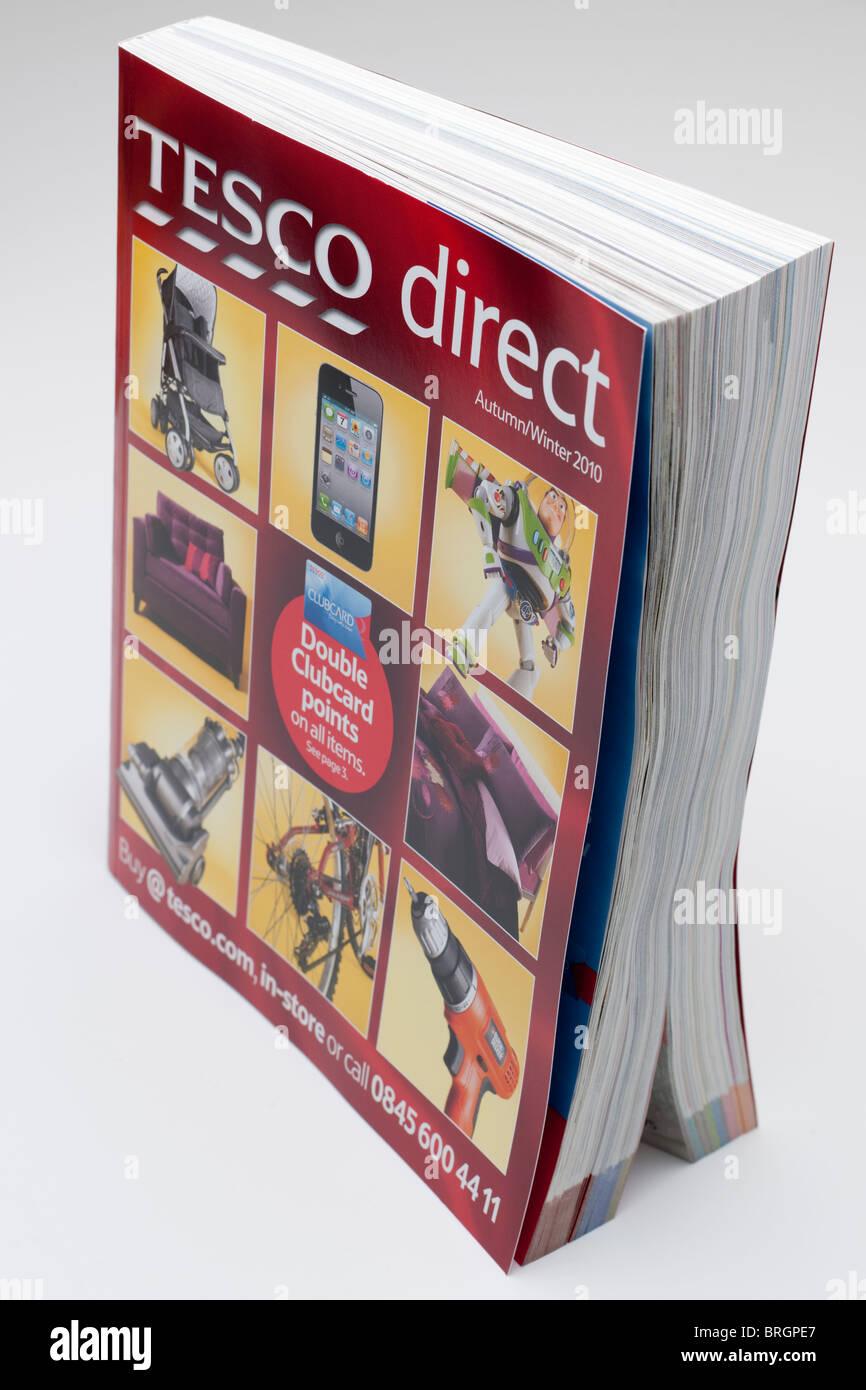 Tesco direct autumn and winter 2010 catalogue - Stock Image