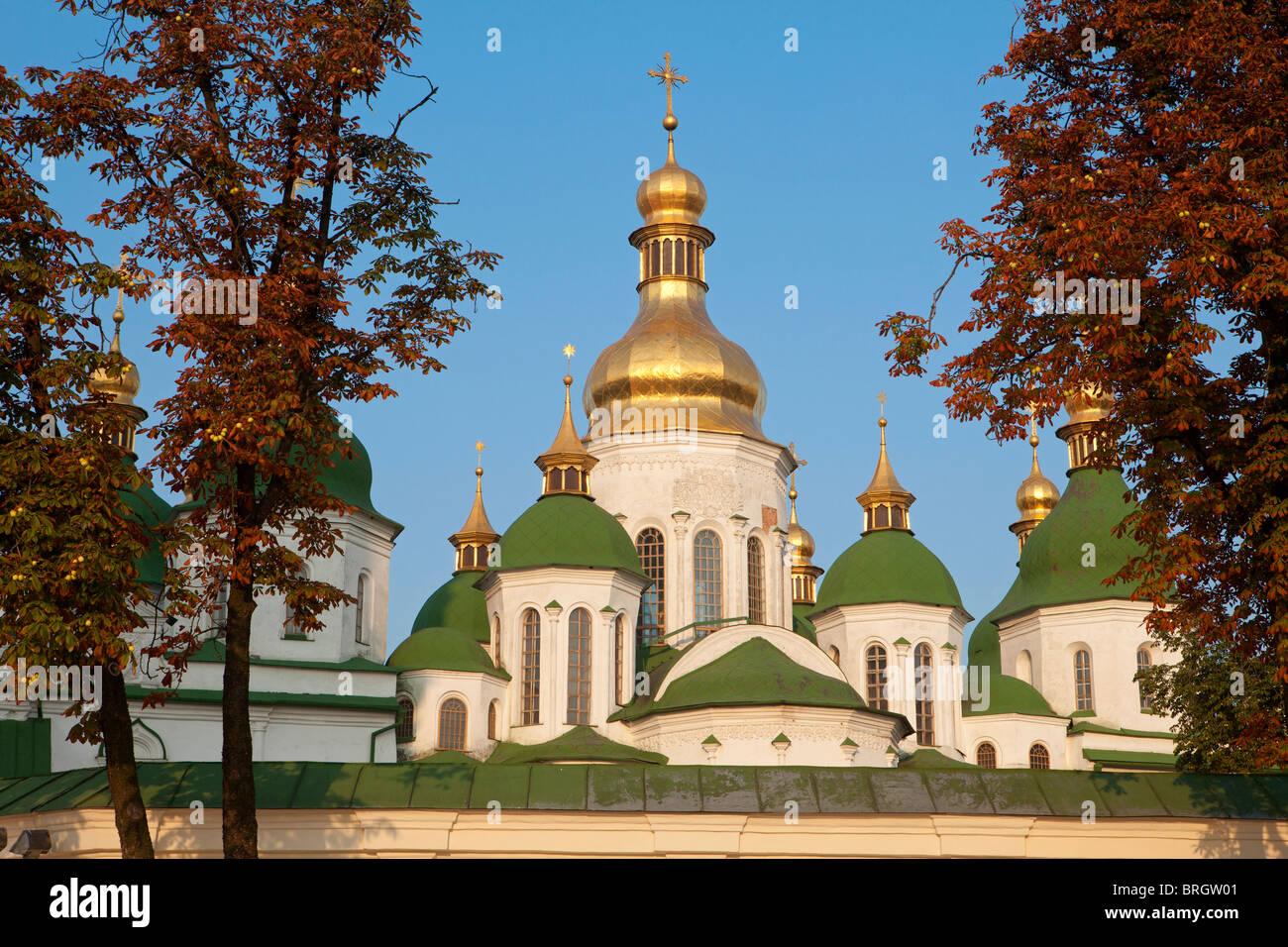 Saint Sophia Cathedral in Kiev, Ukraine - Stock Image