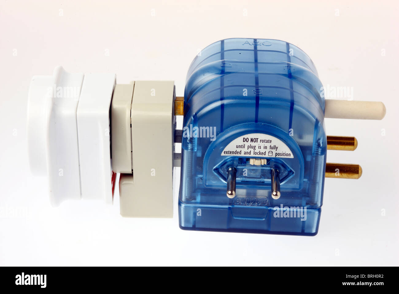 Plug Adapter Stock Photos Images Alamy Wiring Up A French Power And Socket For Connecting Different Electrical Systems Travel Equipment