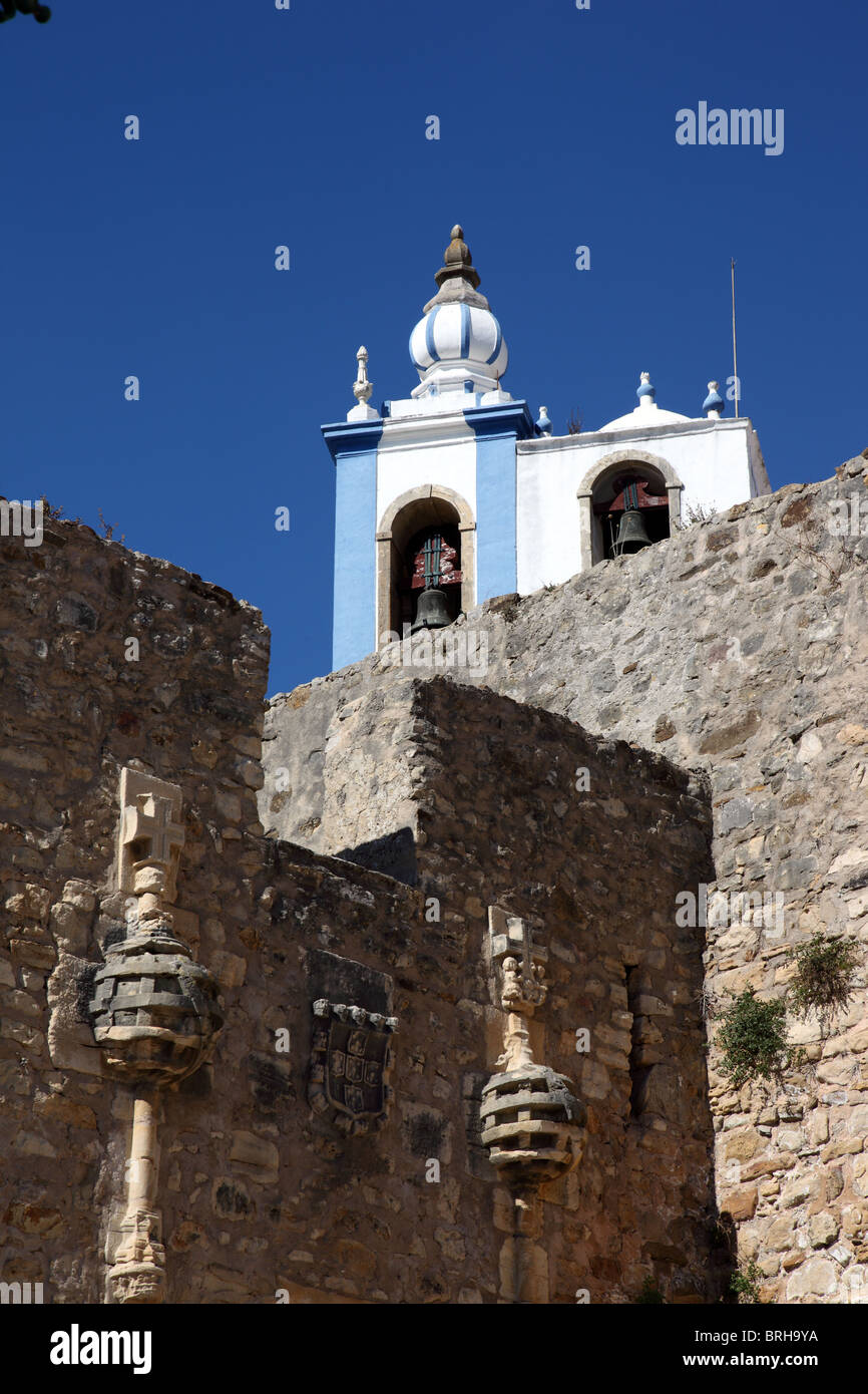 Torres Vedras church, Portugal - Stock Image