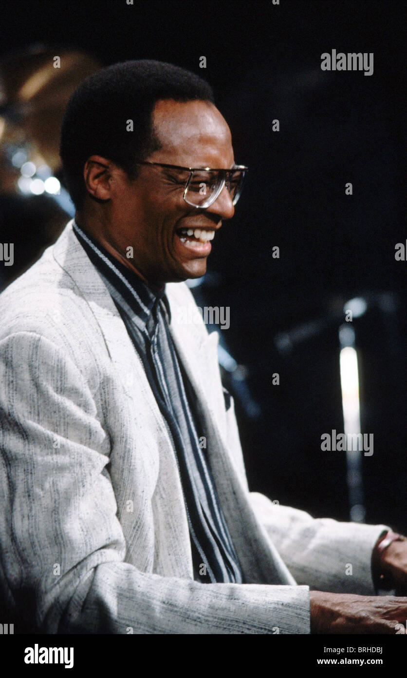 RAMSEY LEWIS JAZZ PIANIST (1993) - Stock Image