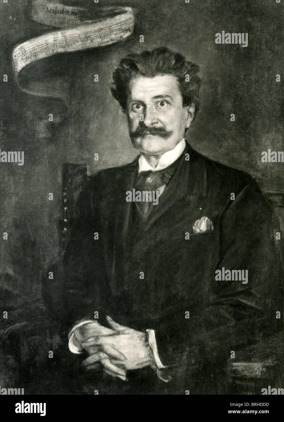 JOHANN STRAUSS II (1825-1899) Austrian light music composer Stock Photo