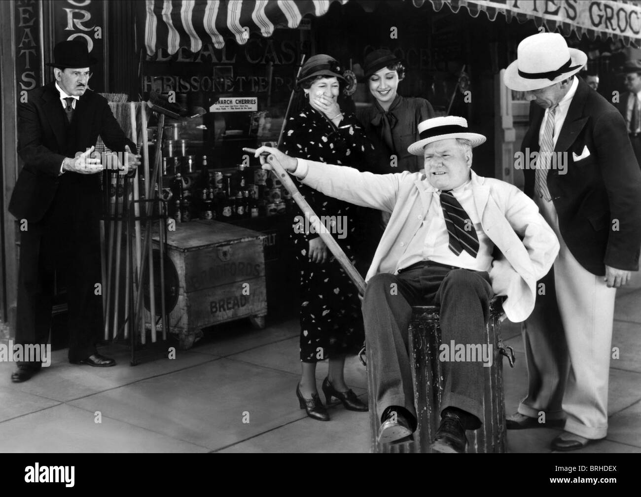 Scene With W C Fields It S A Gift 1934 Stock Photo Alamy