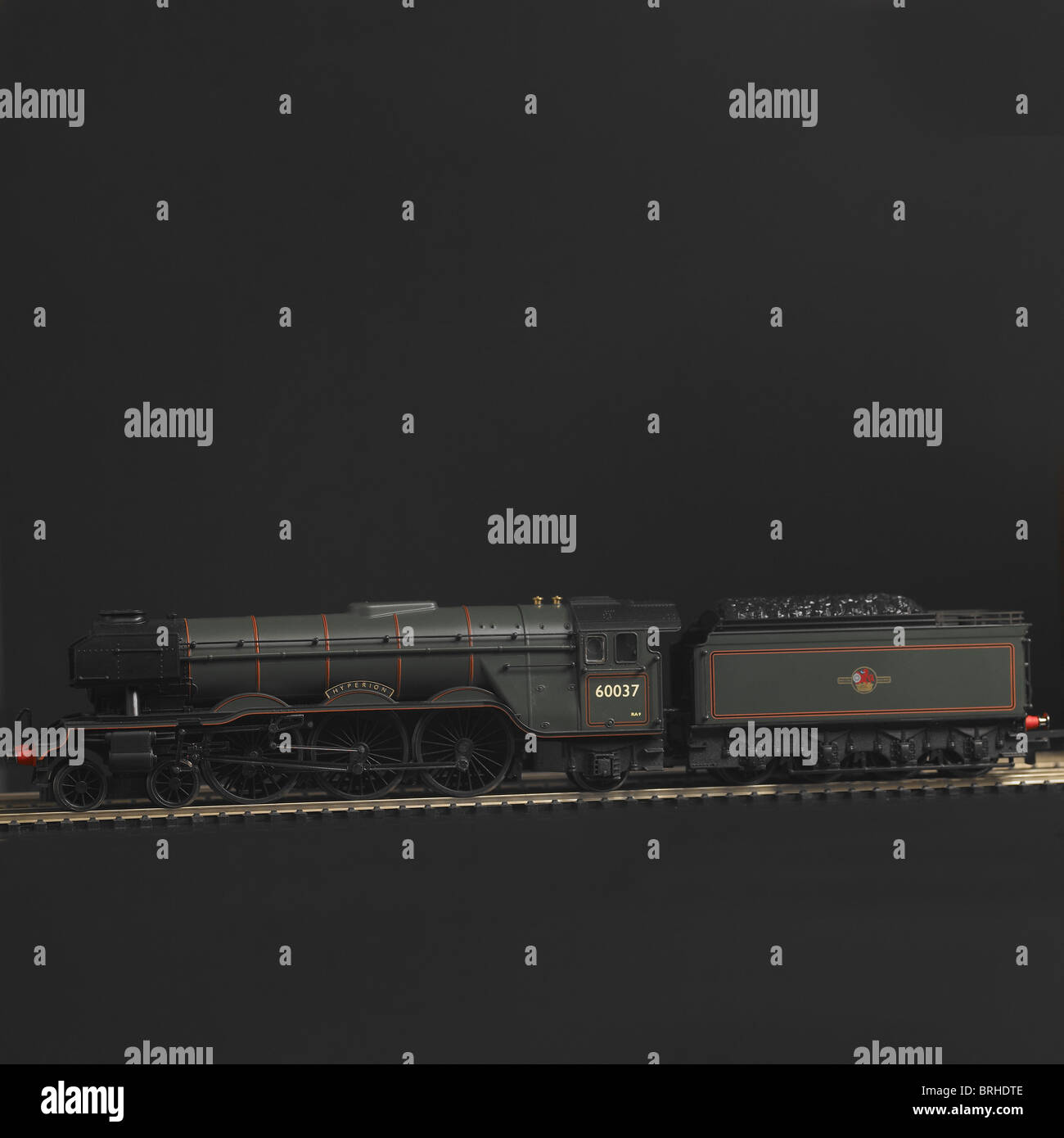 Pacific Class A3 Locomotive Stock Photos & Pacific Class A3