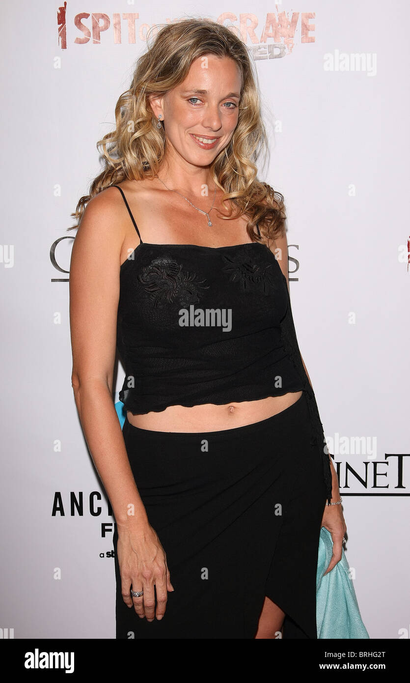 MOLLIE MILLIGAN I SPIT ON YOUR GRAVE UNRATED LOS ANGELES PREMIERE HOLLYWOOD LOS ANGELES CALIFORNIA USA 29 September Stock Photo