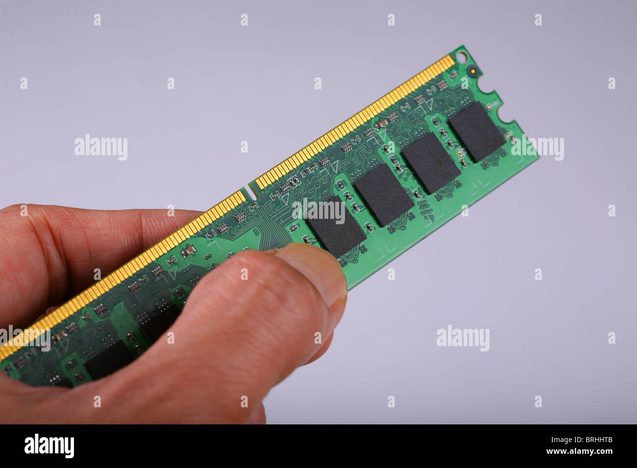 Memory chip - Stock Image