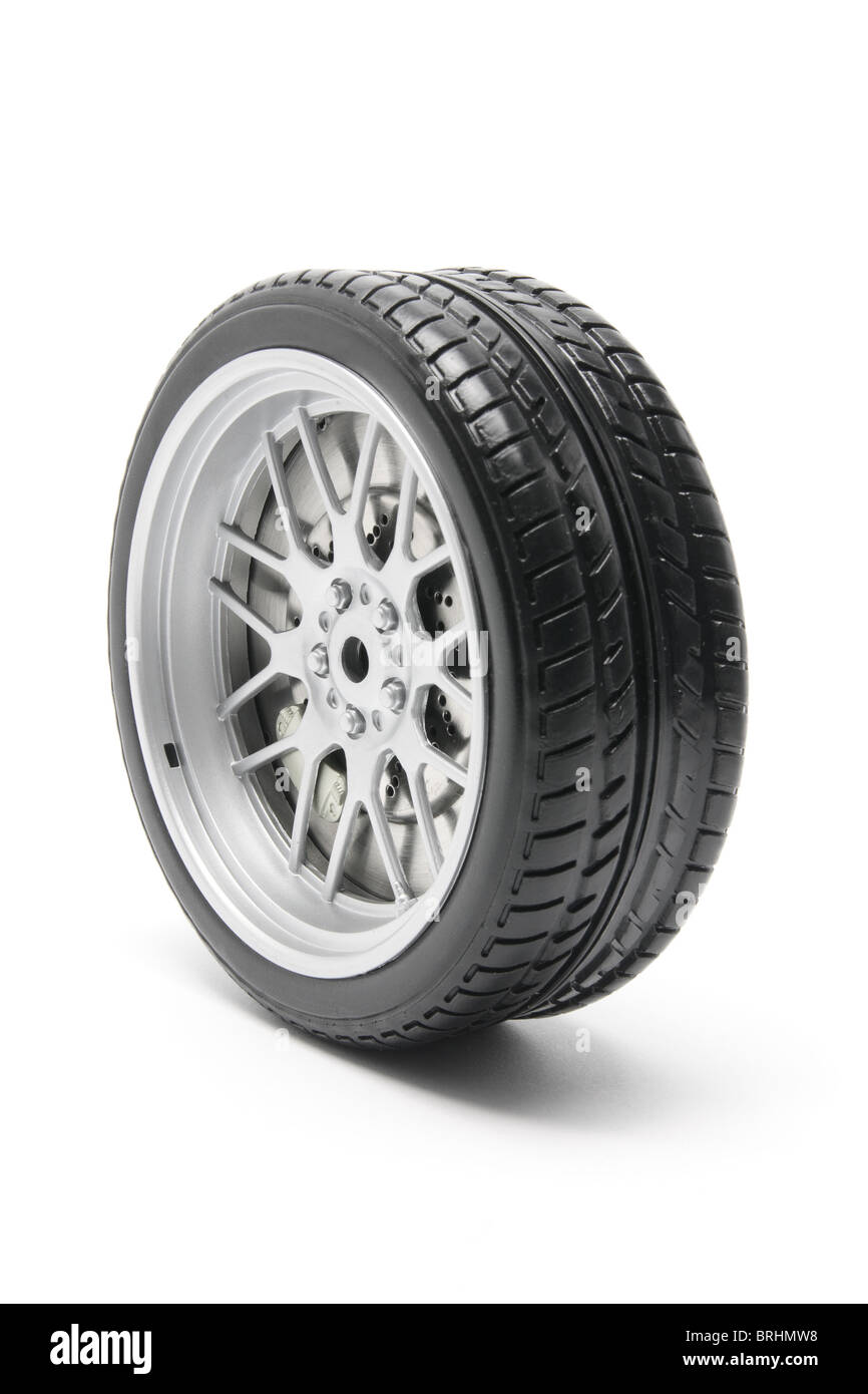 Miniature Tyre - Stock Image