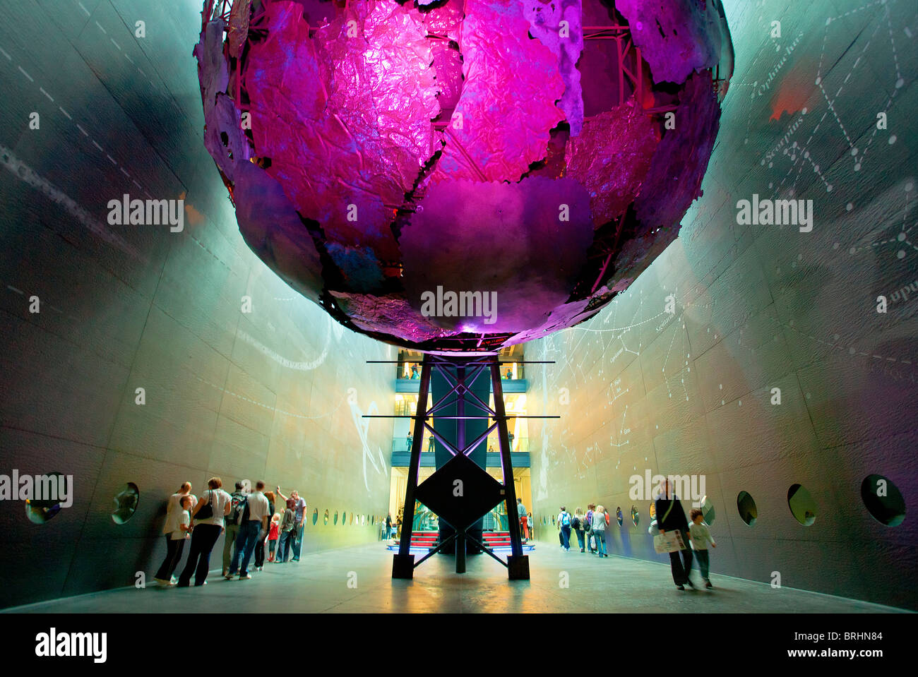 Europe, United Kingdom, England, The Earth Galleries at London's Natural History Museum - Stock Image