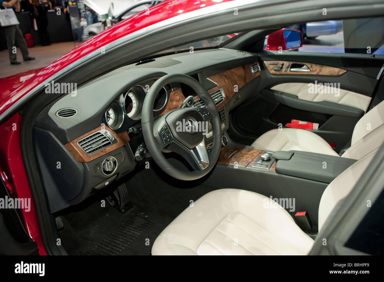 Paris, France, Paris Car Show  Mercedes Benz, 250CDI, Stock Photo