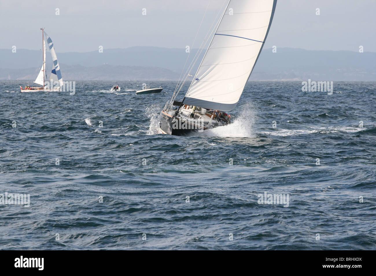 Black Diamond,  The Tall Ships Races 2010, Kristiansand - Stock Image