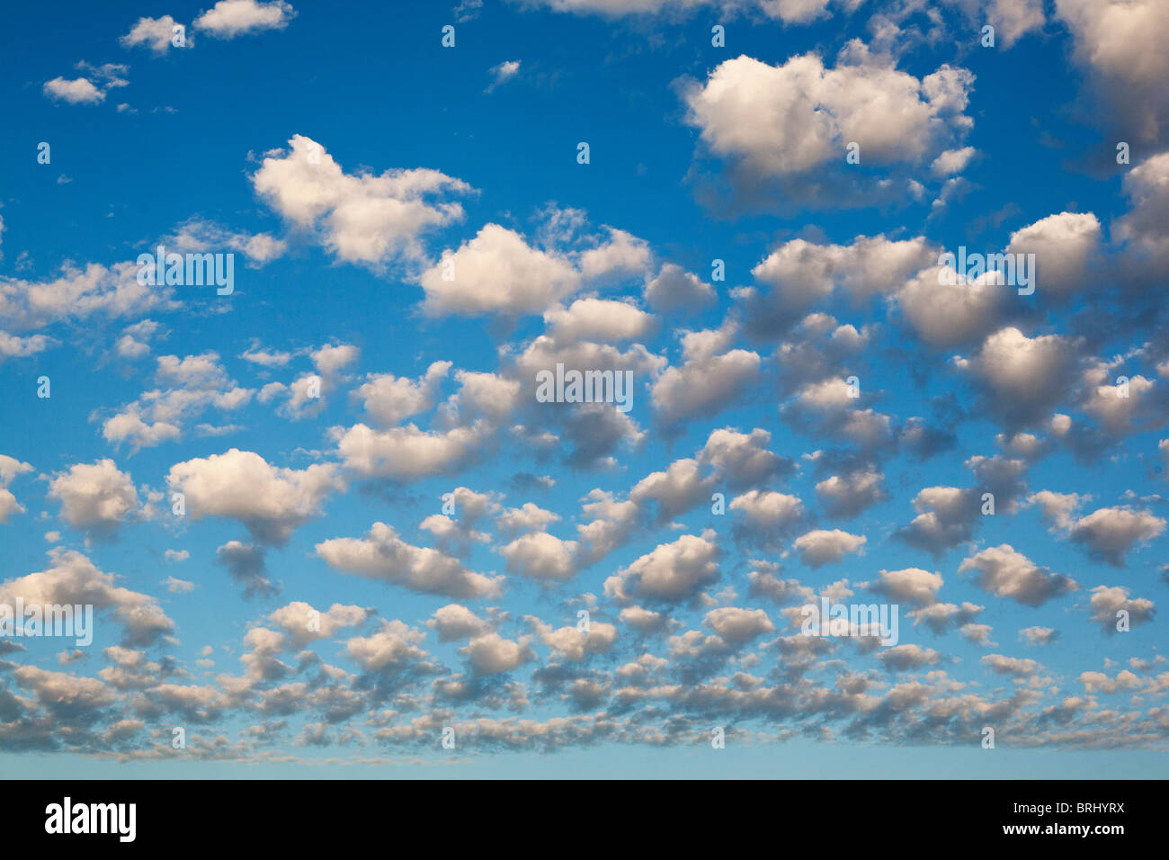clouds in sky - Stock Image