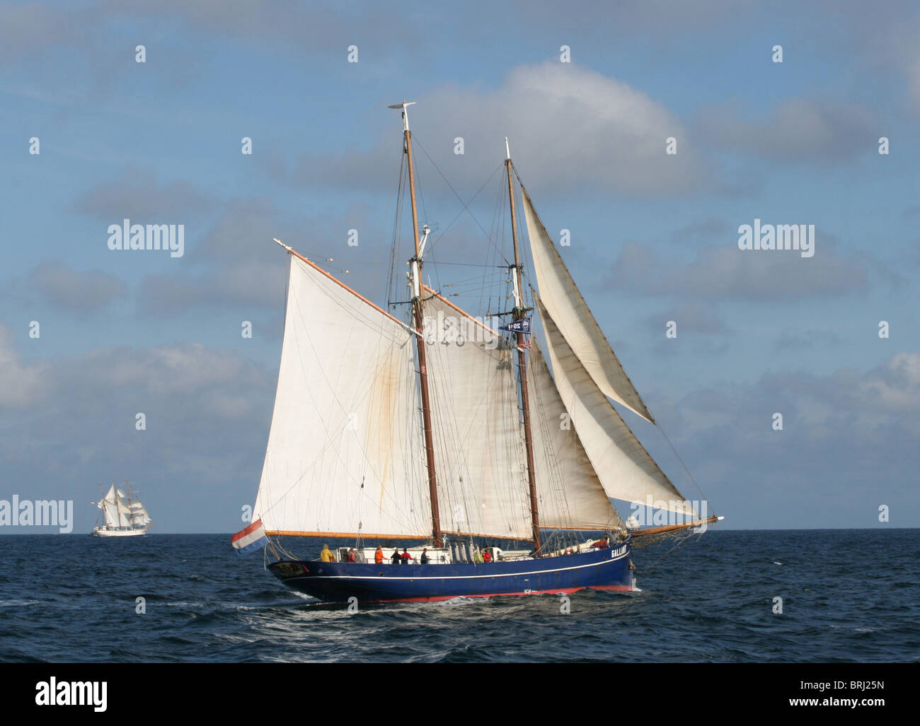 Galant, The Tall Ships Races 2010, Kristiansand - Stock Image