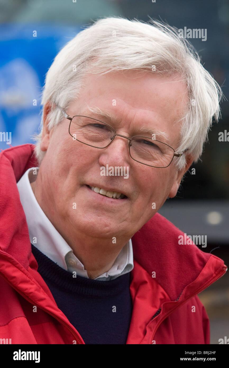 John Craven Countryfile Presenter - Stock Image