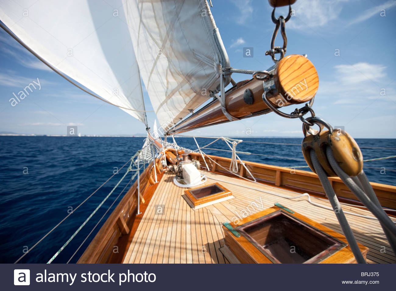 Classic Yachts - Stock Image