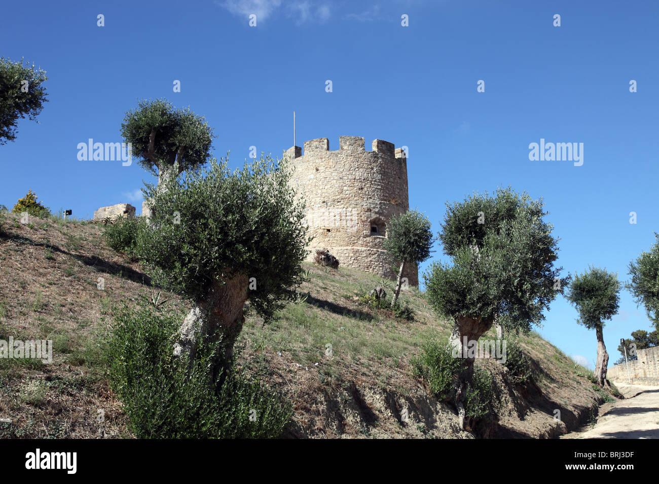 Torres Vedras Castle, Portugal - Stock Image