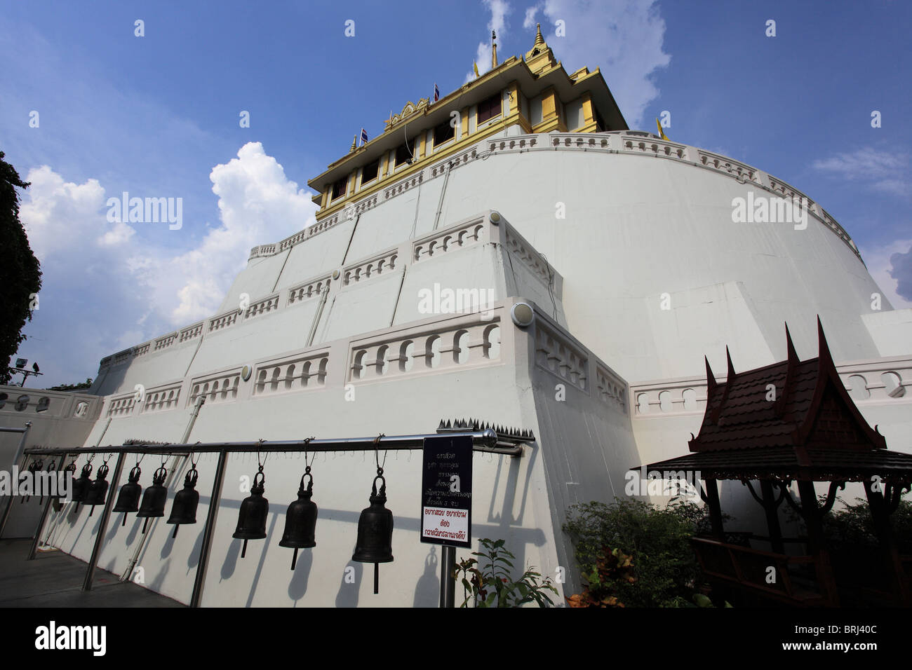 Wat Saket in bangkok, Thailand Stock Photo