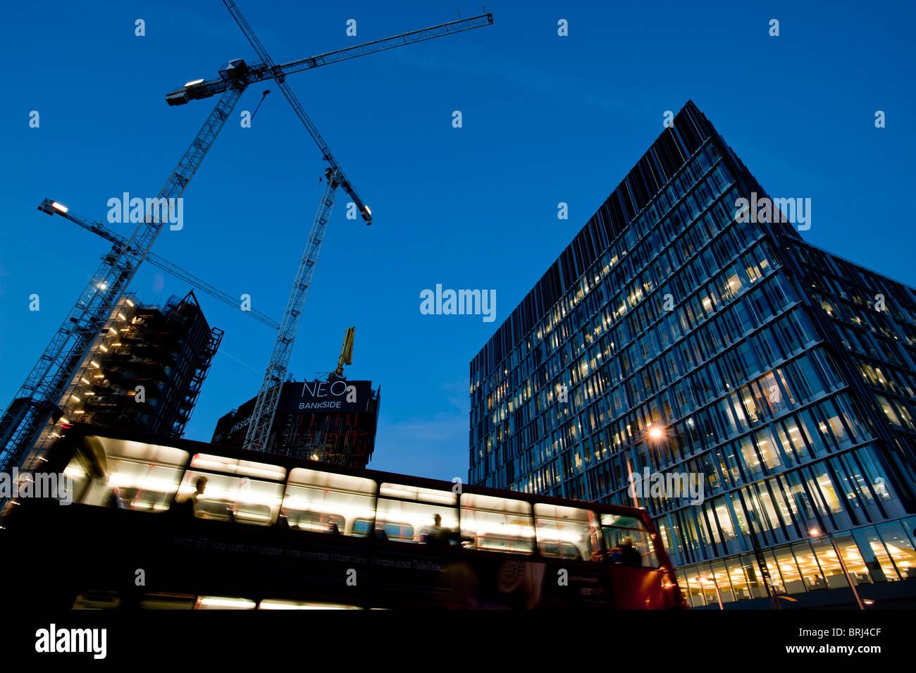 NEO Bankside modern development, London, United Kingdom - Stock Image