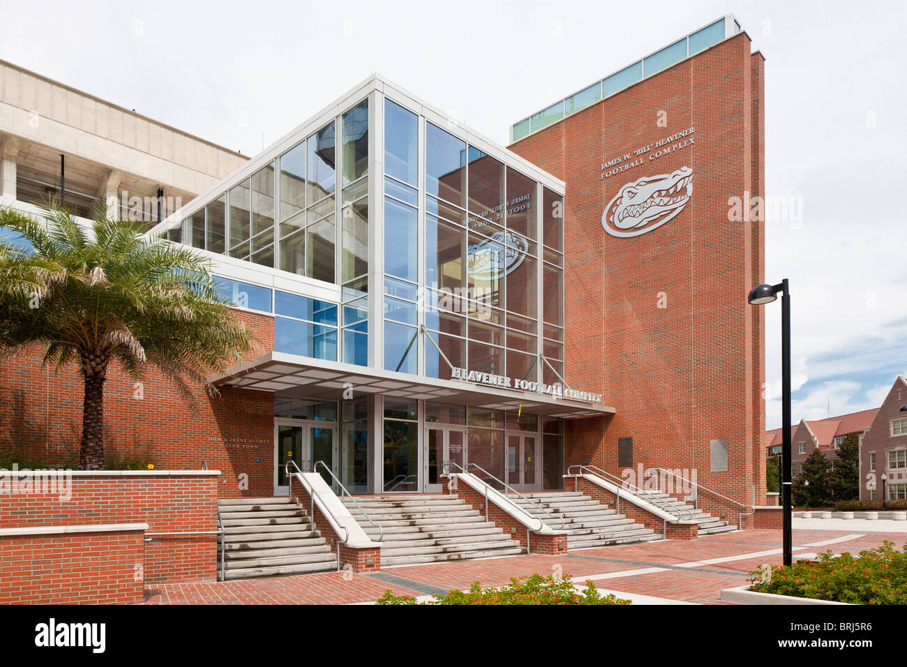 James W. 'Bill' Heavener Football Complex on the University of Florida campus which is the home of the Florida - Stock Image