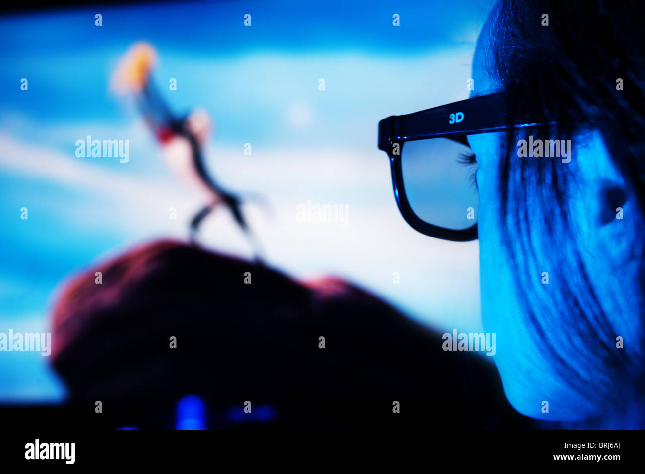 3D Entertainment - Stock Image