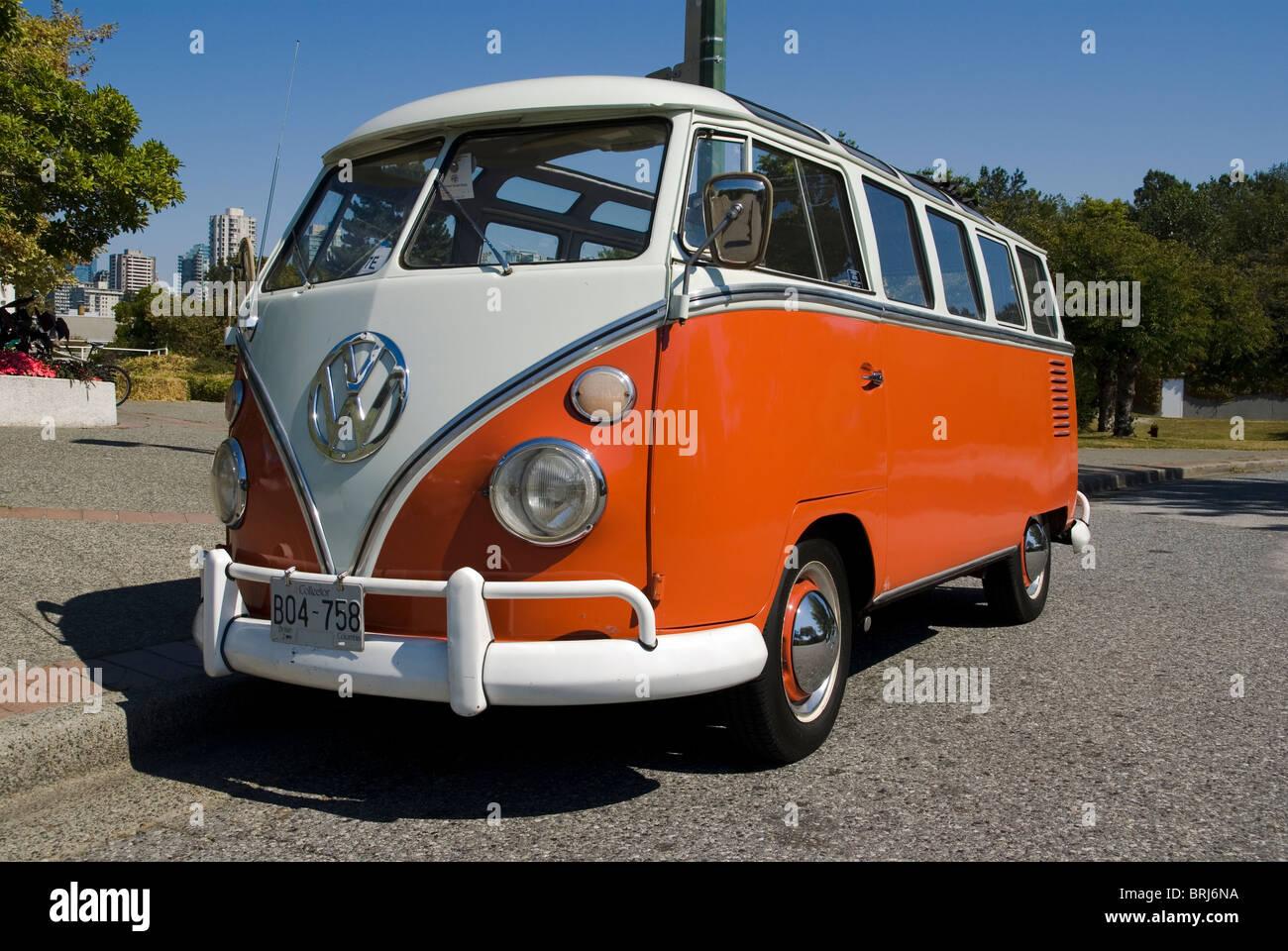 Volkswagen Kombi van - Stock Image