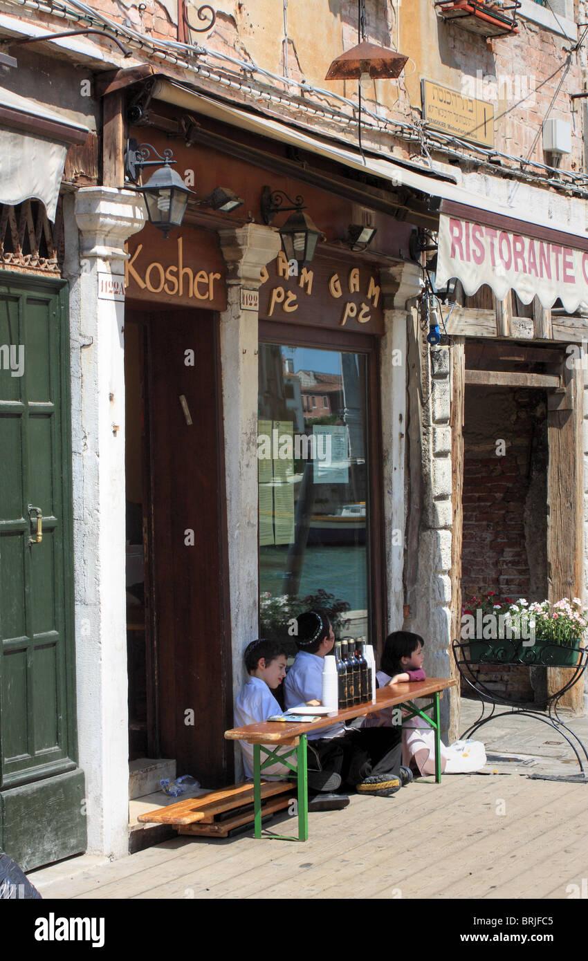 Gheto vechio, Venice, Italy Stock Photo