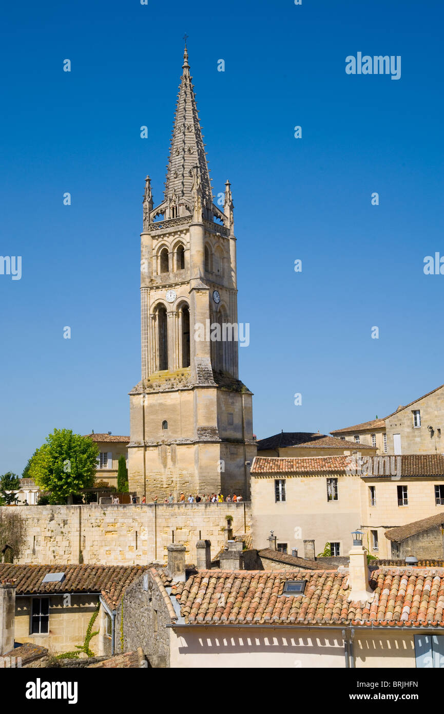 Saint Emilion, Aquitaine, France Stock Photo