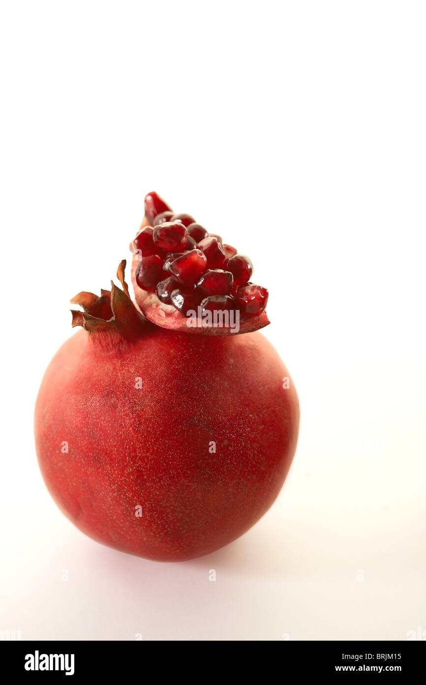 Fresh pomegranate - Stock Image