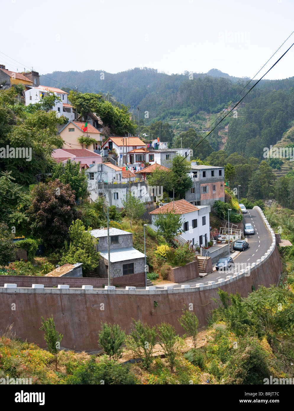 Town of Camacha in Madeira - Stock Image