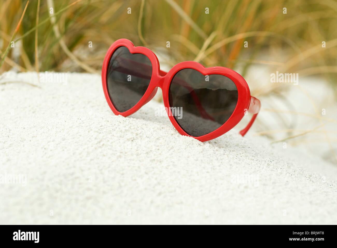 c23b5cac5f8a Heart Sunglasses Stock Photos   Heart Sunglasses Stock Images - Alamy