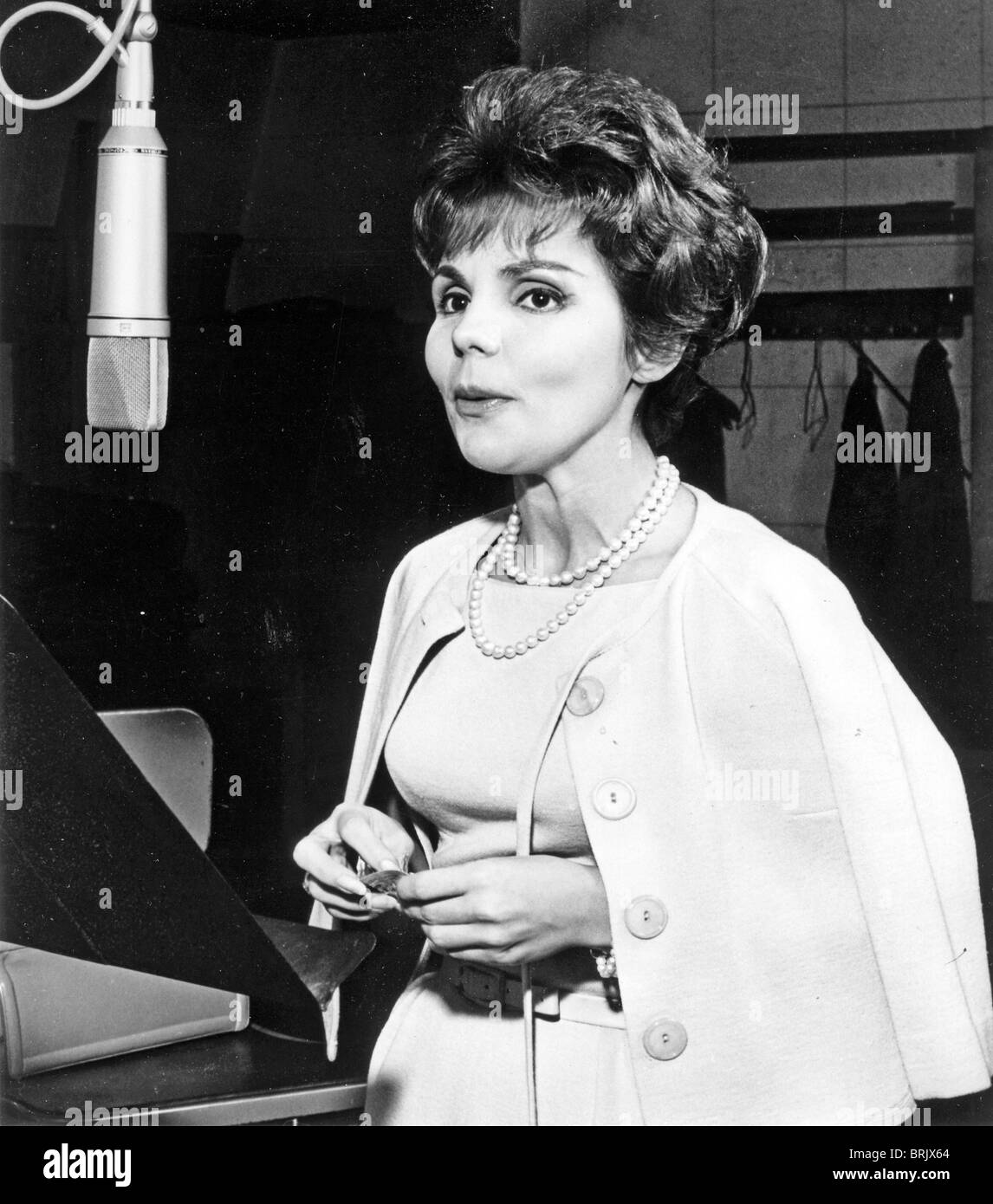 TERESA BREWER (1931-2007) US pop singer - Stock Image