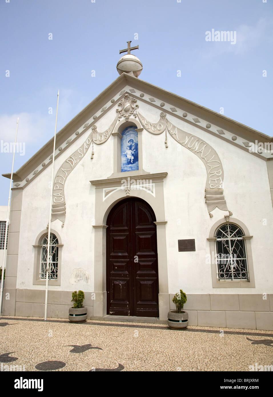 Capela da São Jose - Camacha - madeira - Stock Image