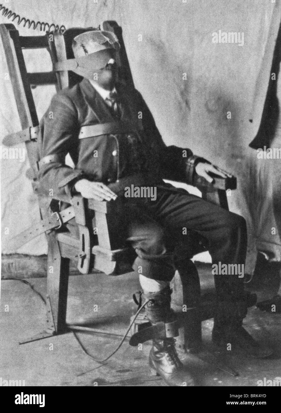 Outstanding Death Chair Black And White Stock Photos Images Alamy Cjindustries Chair Design For Home Cjindustriesco
