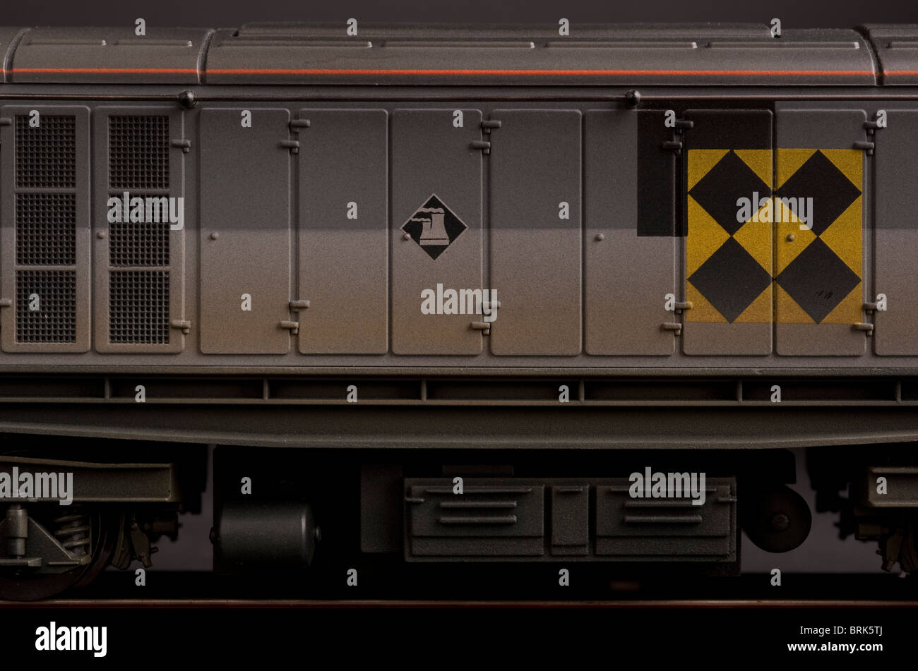 BR Co Co Class 58 Diesel Electric Locomotive detail Stock Photo