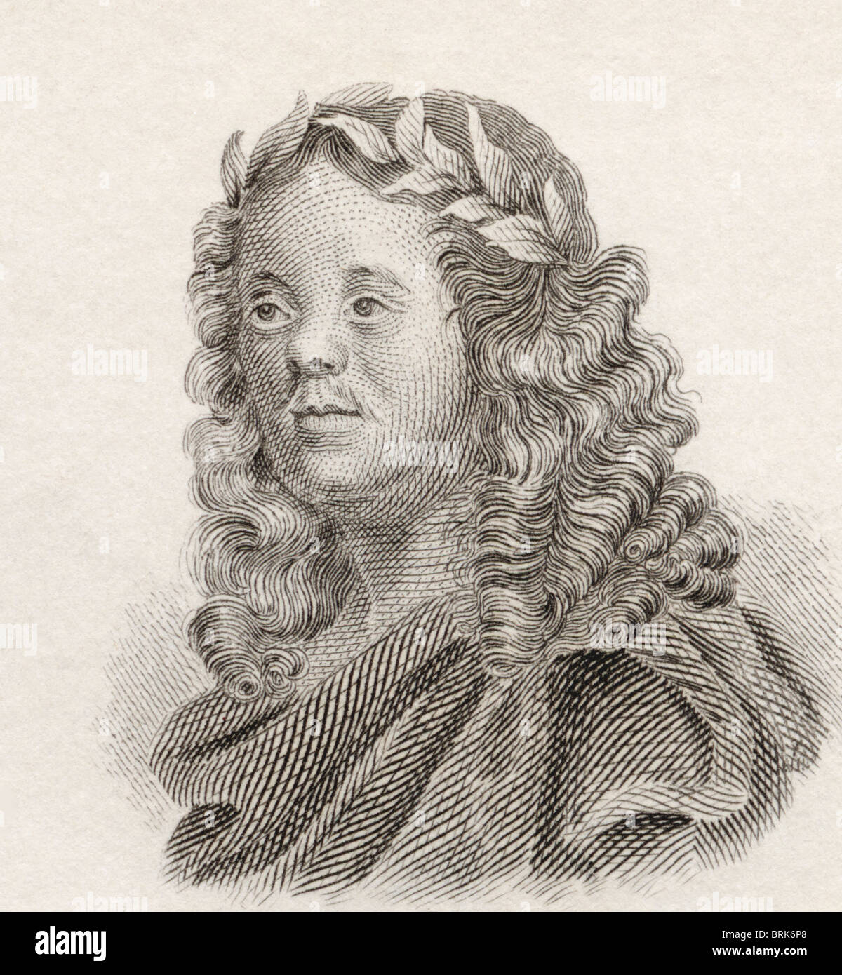 Sir William Davenant, 1606 to 1668. English poet and playwright. - Stock Image