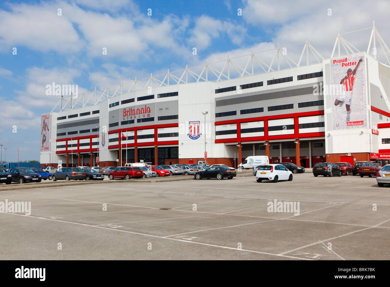 The Britannia Stadium, home of Stoke City Football Club. Stoke. - Stock Image
