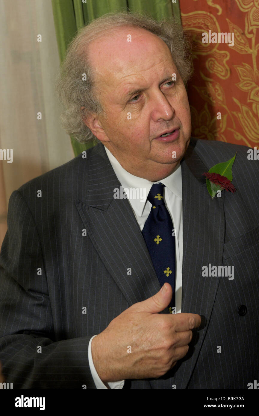 Alexander McCall Smith Writer CBE. Most widely known as the creator of the The No. 1 Ladies' Detective Agency - Stock Image