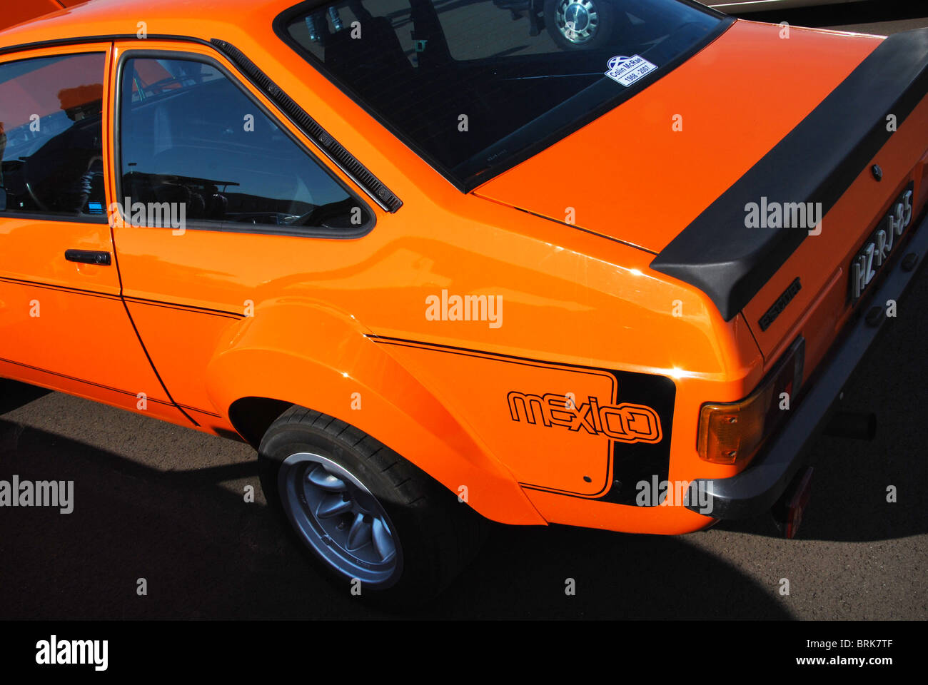 Ford Escort Mexico Mk2 side view