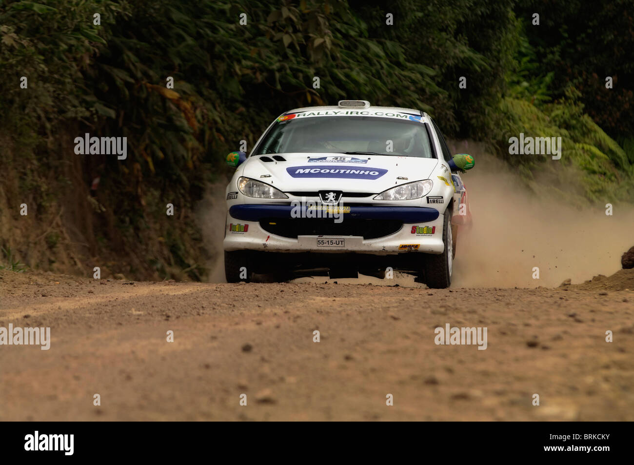 Taken during the IRC rally - Stock Image