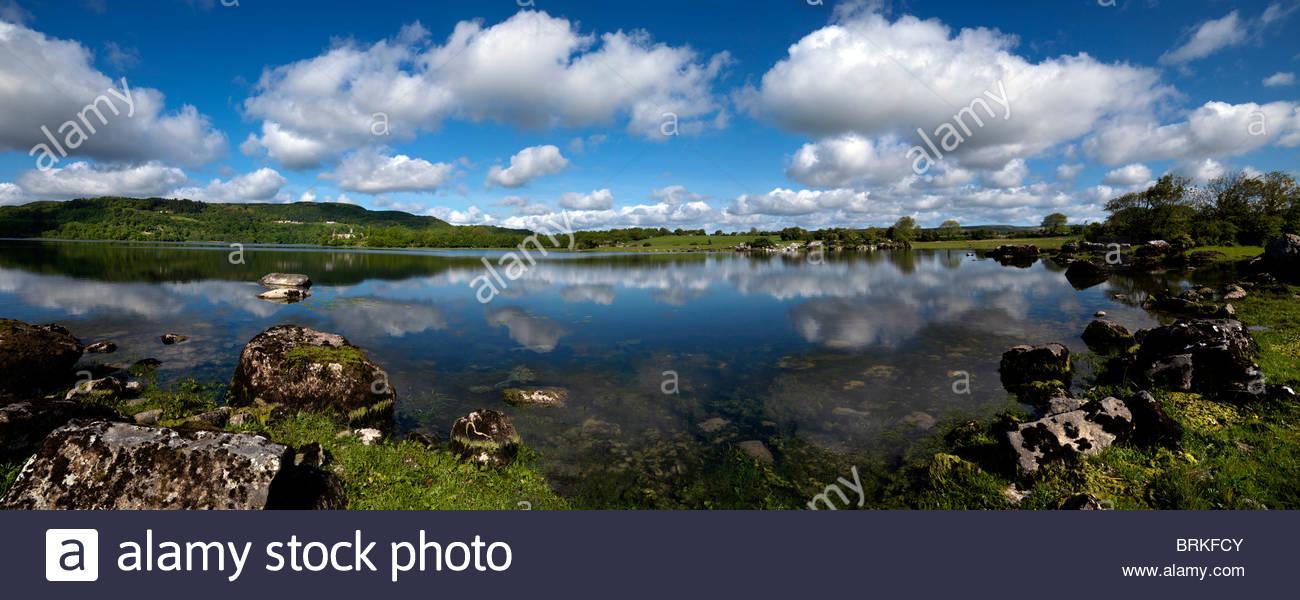 Inchiquin Lake, County Clare, Ireland - Stock Image