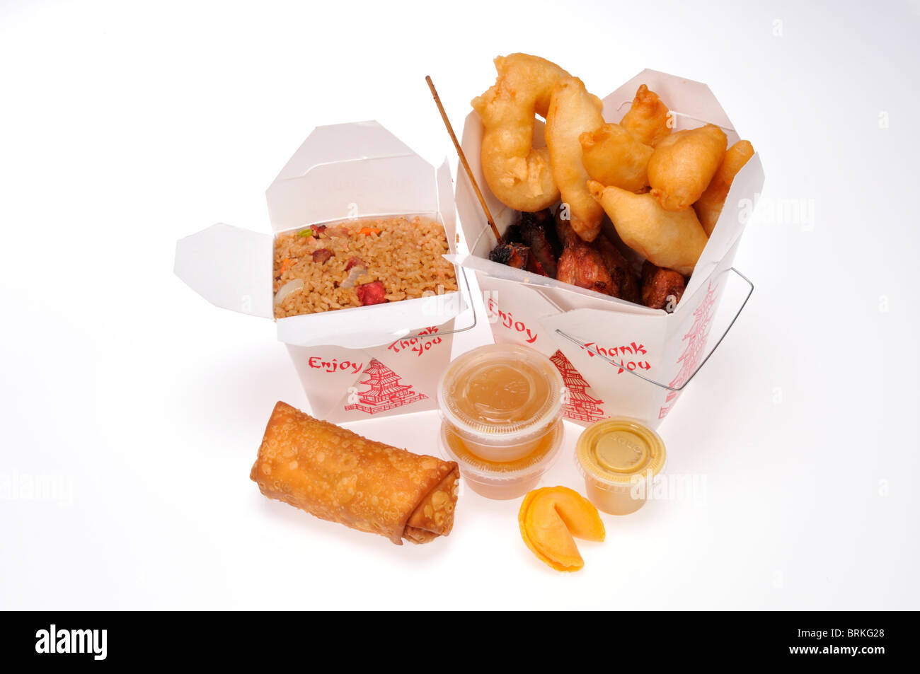 Fast Food Take Out Boxes