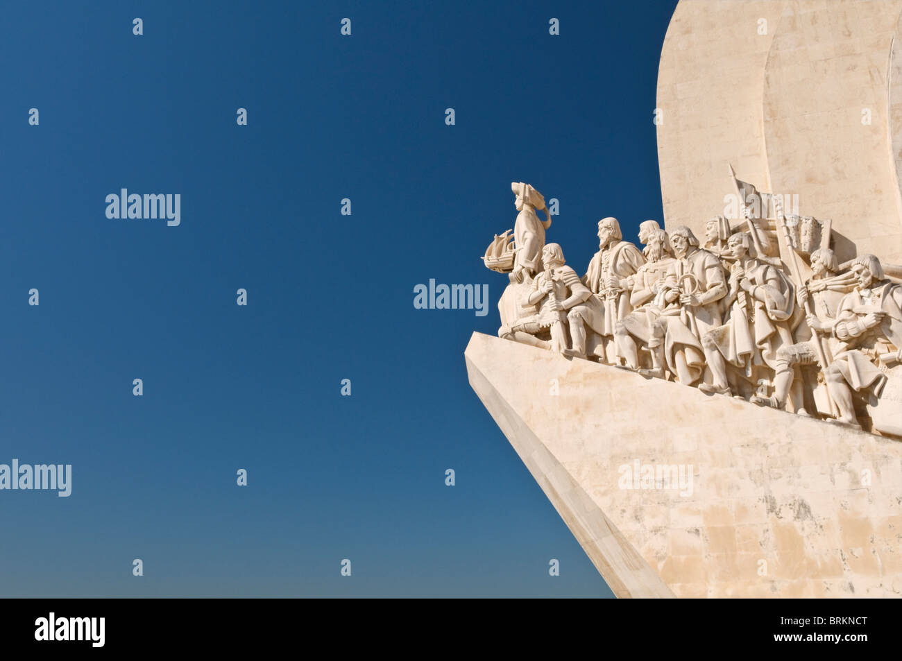 Monument to the Discoveries Belem Lisbon Portugal - Stock Image