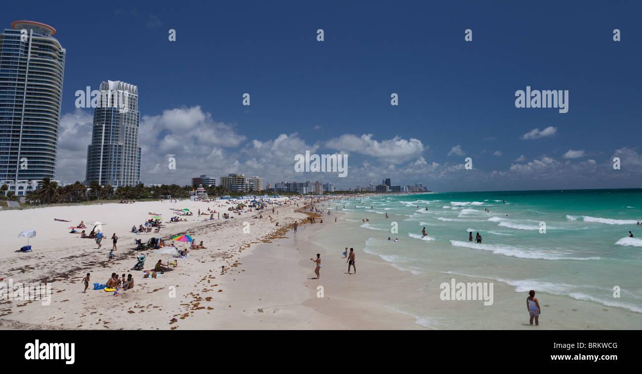 South Beach, Miami, Florida - Stock Image